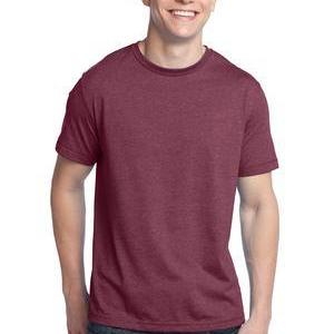 District DT142 Young Mens Tri Blend Crew Neck Tee